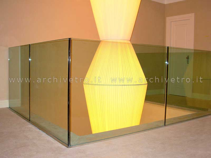 Balaustre vetro