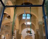 Bussola ingresso in vetro strutturale