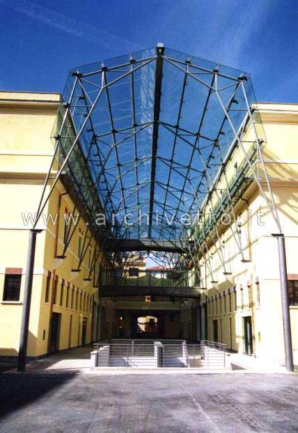 Copertura continua spiderglass archivetro - Scale esterne chiuse ...