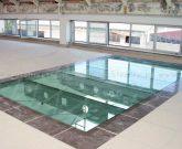 vetro calpestabile - pavimento in vetro strutturale