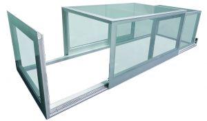 lucernari per tetti su misura in vetro apribili