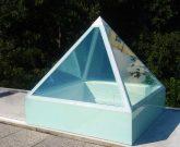 lucernario in vetro accesso tetti