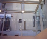 Scale vetro e acciaio