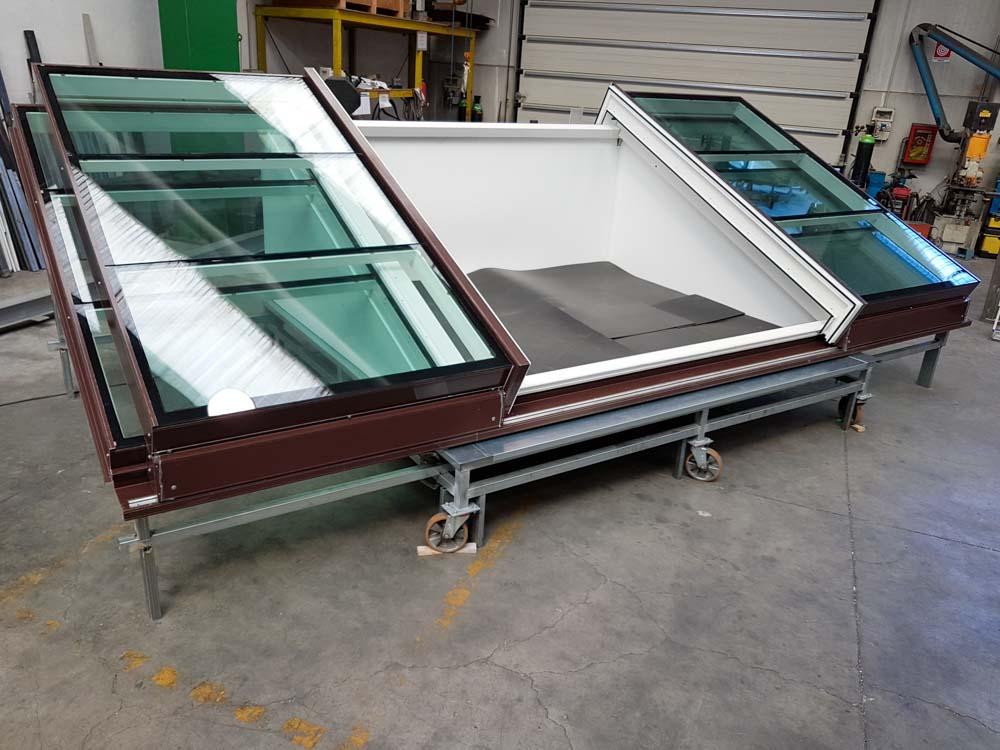 lucernario variglass basso per tetto inclinato archivetro
